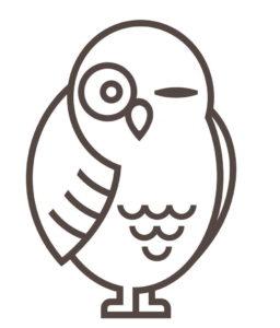 Mascot Owl Winking