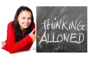 Thinking Allowed Blackboard