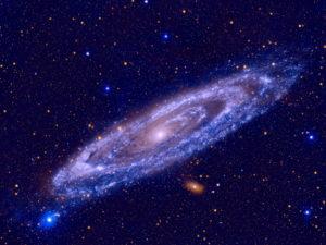andromeda galaxy of rocks