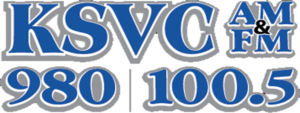 Radio Station KSVC logo