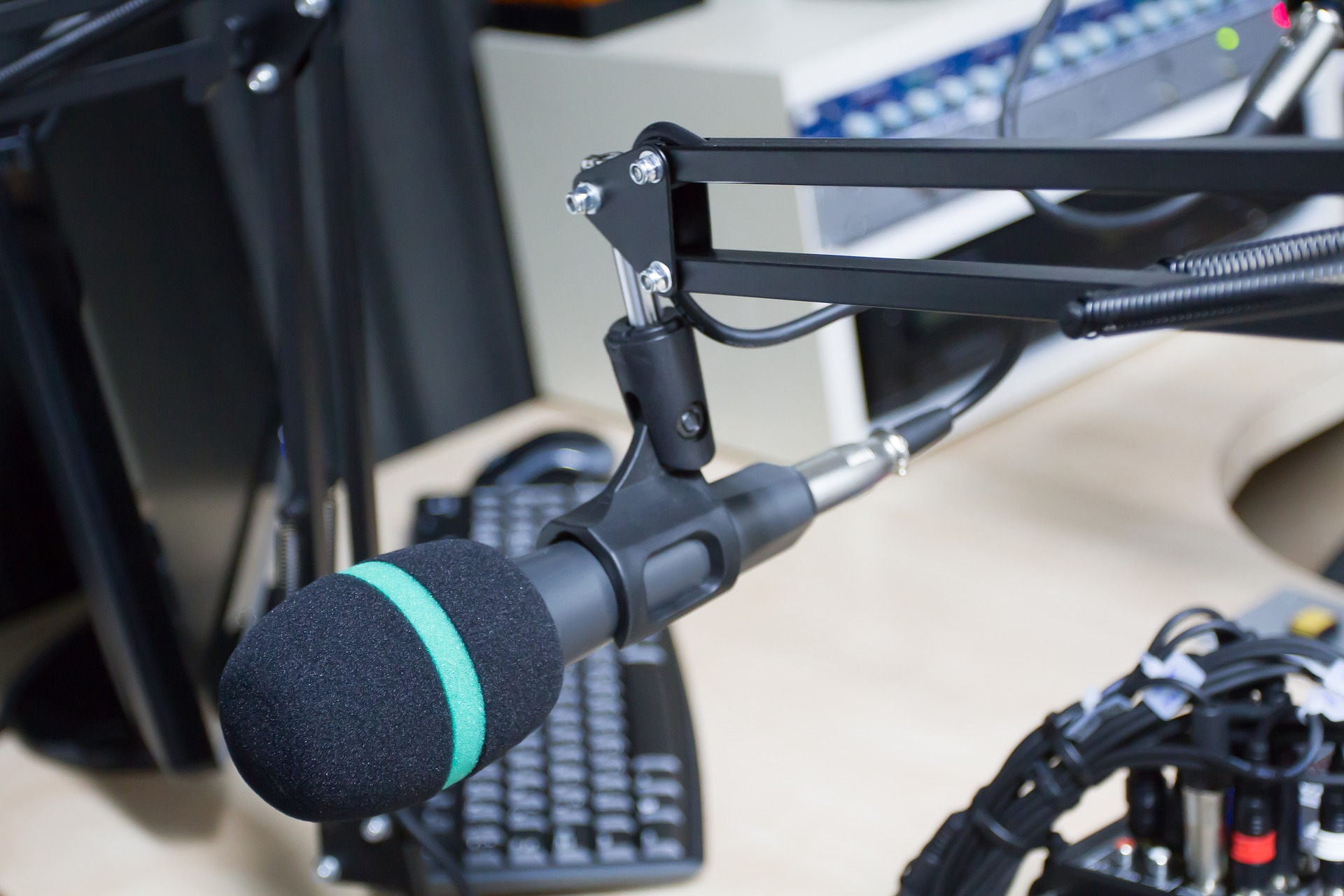 Radio Interview Microphone
