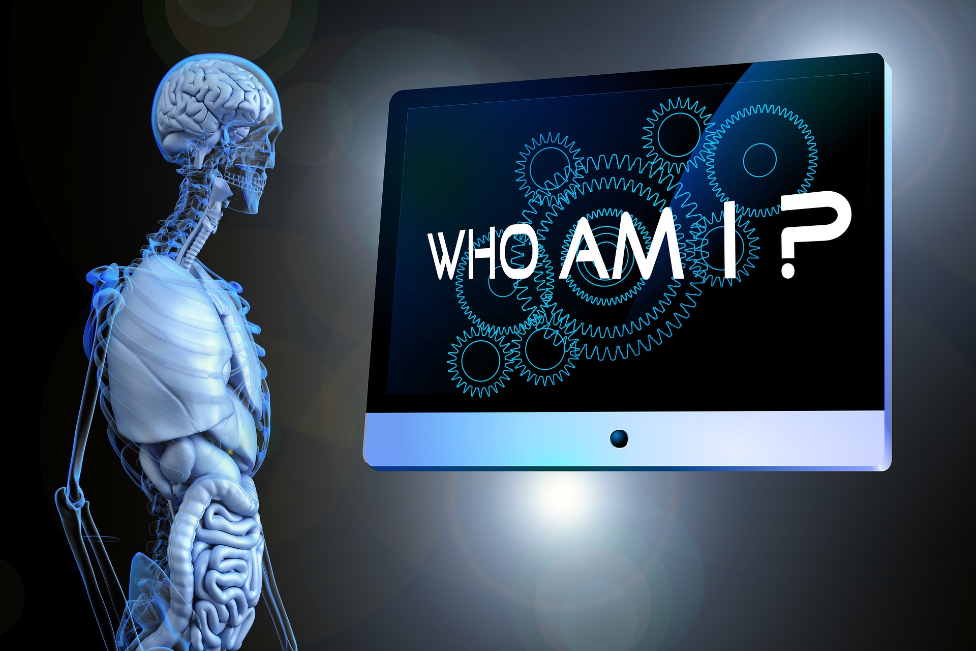 Who am I? question.