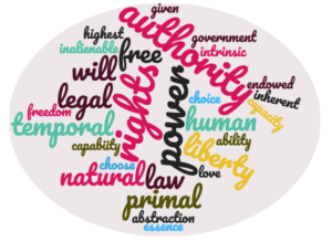 Temporal Rights Word Cloud